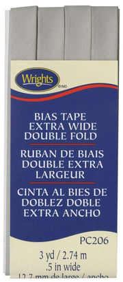 "Shadow ~ 1/2"" Double Fold Bias Tape from Wrights"