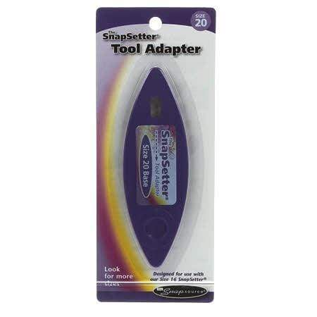Snap Setter Adaptor  Size 20
