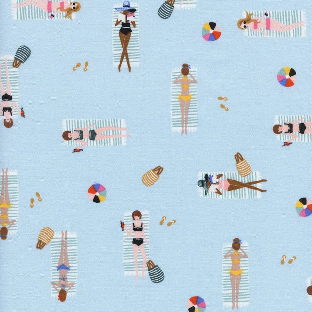 Sun Girls in Sky ~ Amalfi by Rifle Paper Co.