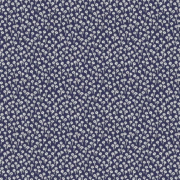 Tapestry Dot in Navy - Rifle Paper Co. Basics