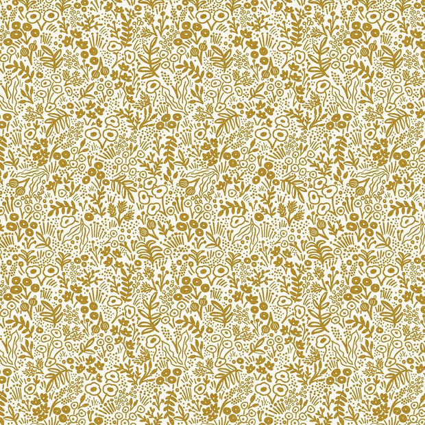 Tapestry Lace in Gold Metallic - Rifle Paper Co. Basics