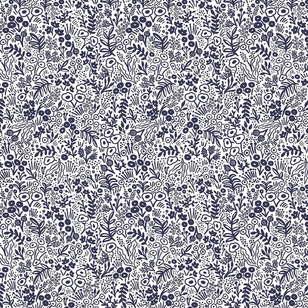 Tapestry Lace in Navy - Rifle Paper Co. Basics