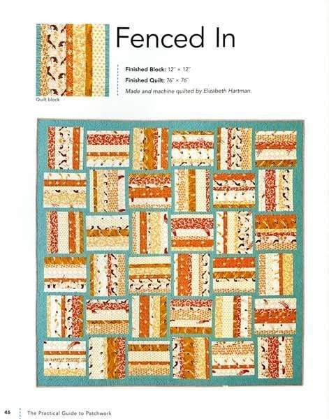 The Practical Guide to Patchwork: New Basics for the Modern Quiltmaker by Elizabeth Hartman