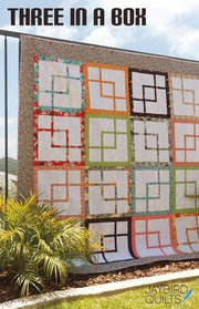 Three in a Box Quilt, Jaybird Quilts