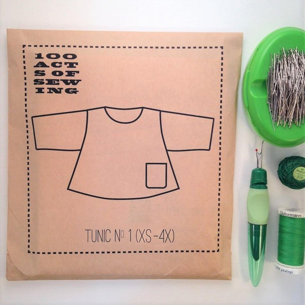 Tunic No. 1, 100 Acts of Sewing
