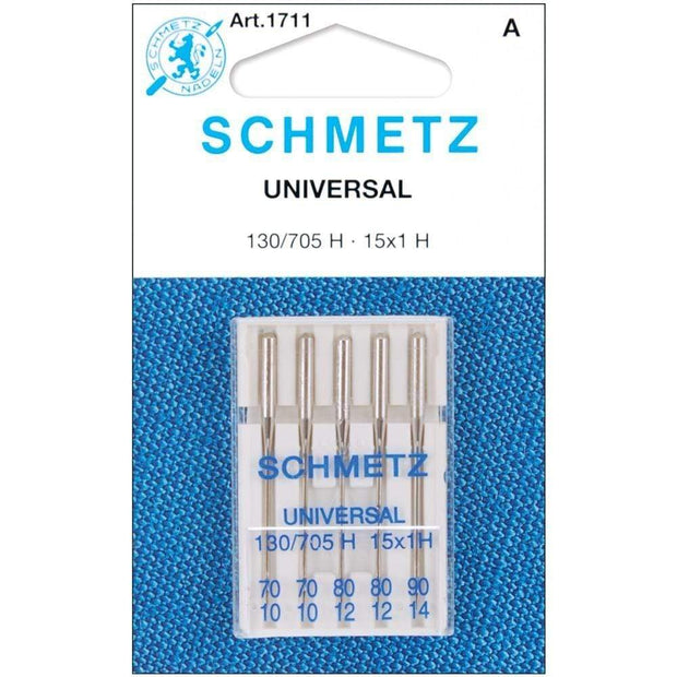 Universal 10/70-14/90 Sewing Machine Needles from Schmetz