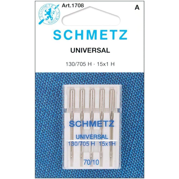 Universal 70/10 Sewing Machine Needles from Schmetz