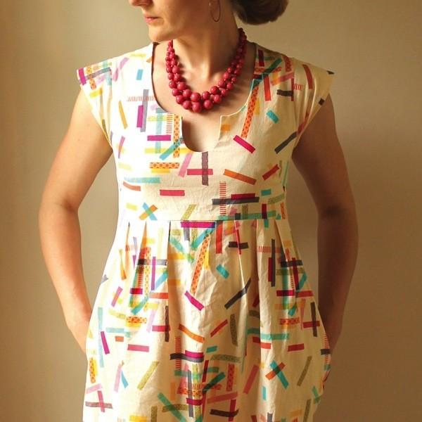 Washi Dress, Made by Rae
