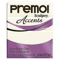 White Translucent Premo Modeling Clay, 2 oz