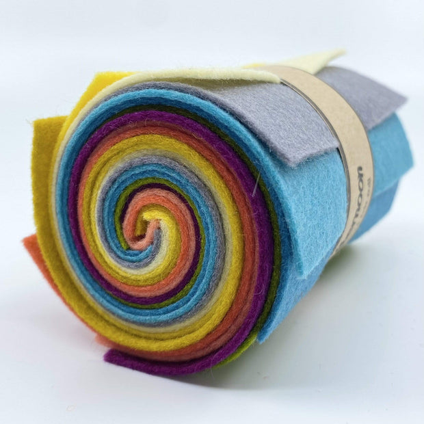 Wool Felt Roll ~ Afternoon