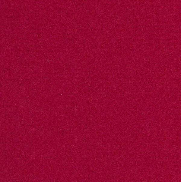 Wool Felt Sheet in Cerise