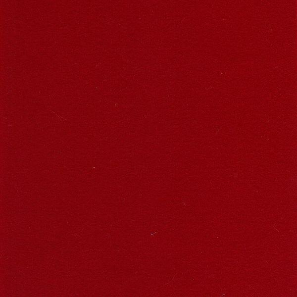 Wool Felt Sheet in Red