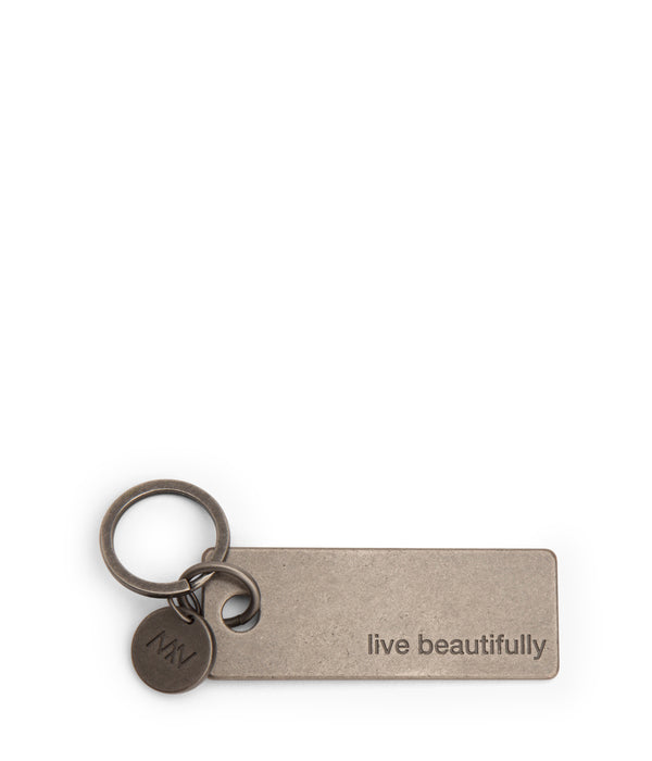 variant::nickel -- bene key chain nickel
