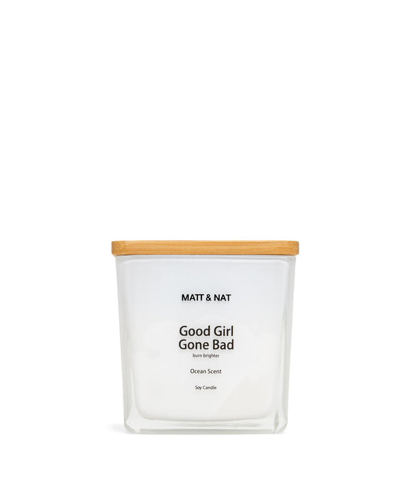 variant::white -- good girl gone bad candle white