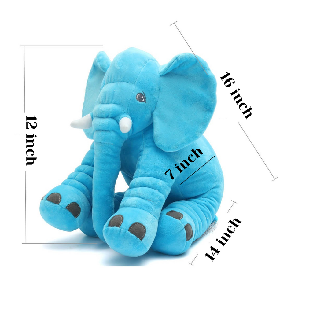 AnimalLove™ Stuffed Animal Elephant Pillow for Toddlers, Infants or Kids Size