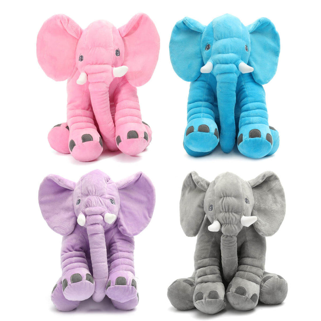 "AnimalLove™ Stuffed Animal Elephant Pillow for Toddlers, Infants or Kids 15.7"" Inches"