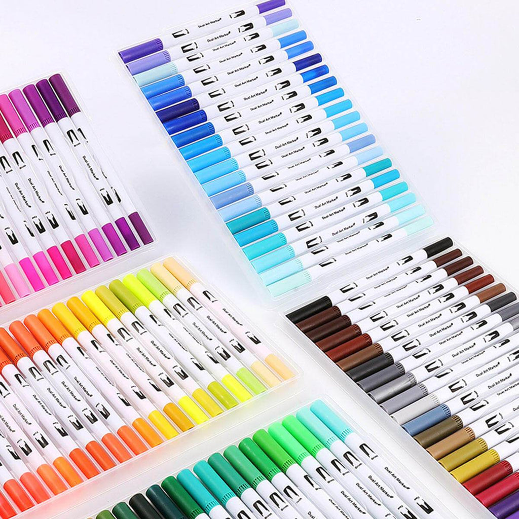 Pens4Art™ Art Marker Set with Dual Tip 100 Colors