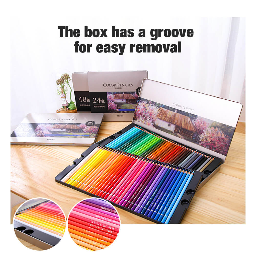 ArtXst™ Colored Drawing Pencil Set of 72 for Kids or Artists