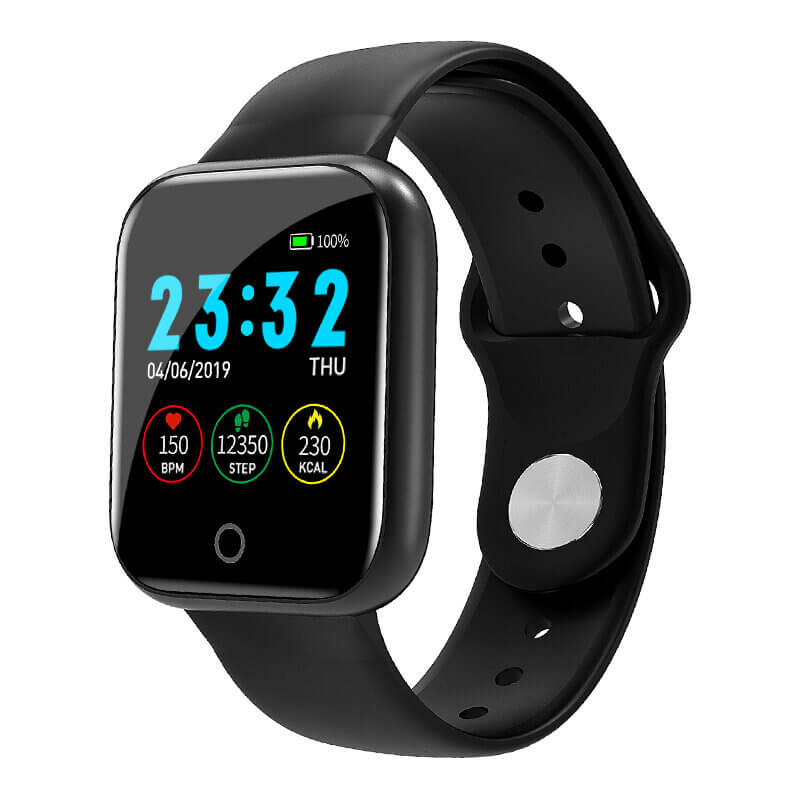 Bakeey I5™ Waterproof Smart Watch for Heart Rate Monitor with Metal Body Design