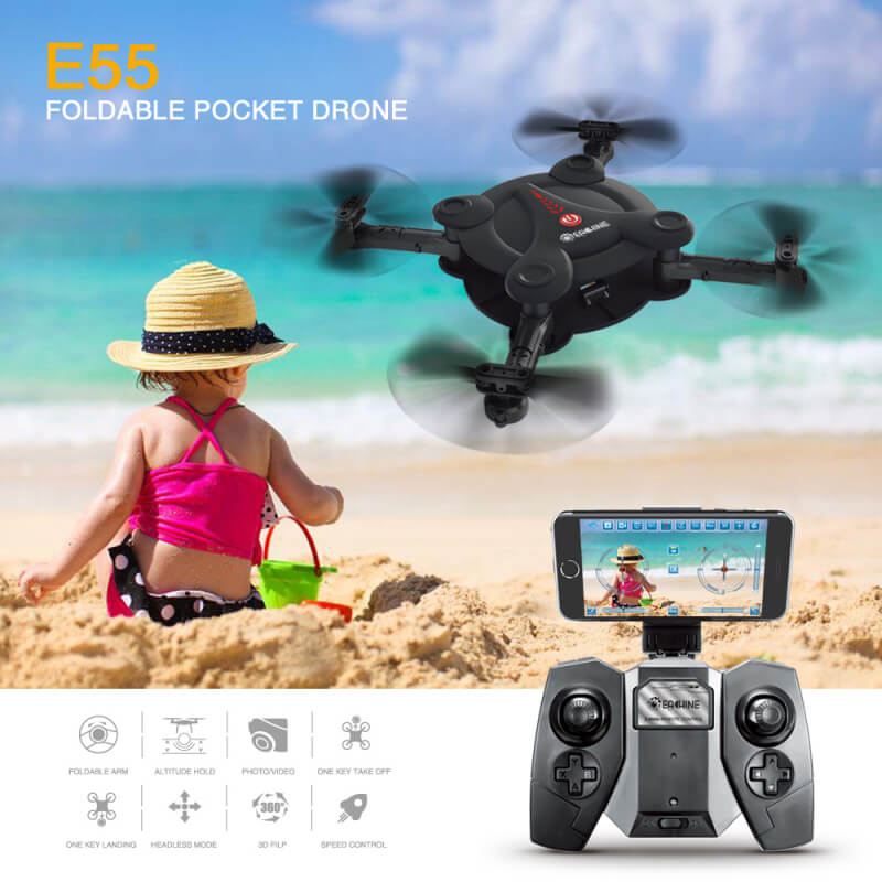 Portable Bargainova™ Foldable Mini Drone with HD Camera