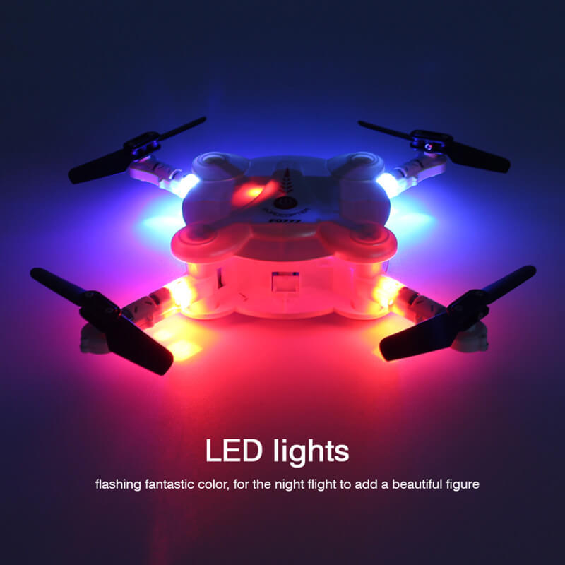 Bargainova™ Foldable Mini Drone with HD Camera Lights