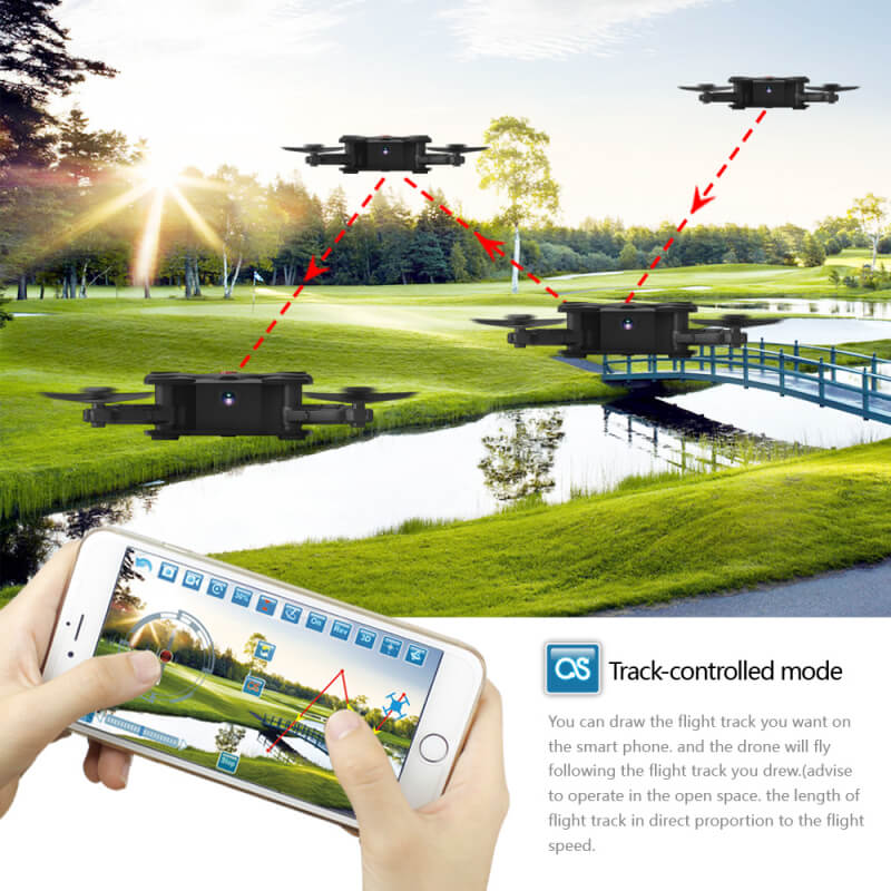 Bargainova™ Foldable Mini Drone with HD Camera Track-controlled Mode