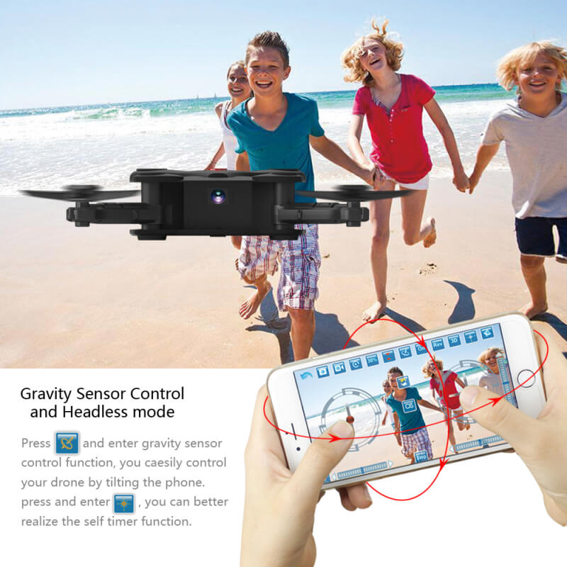 Bargainova™ Foldable Mini Drone with HD Camera Headless mode