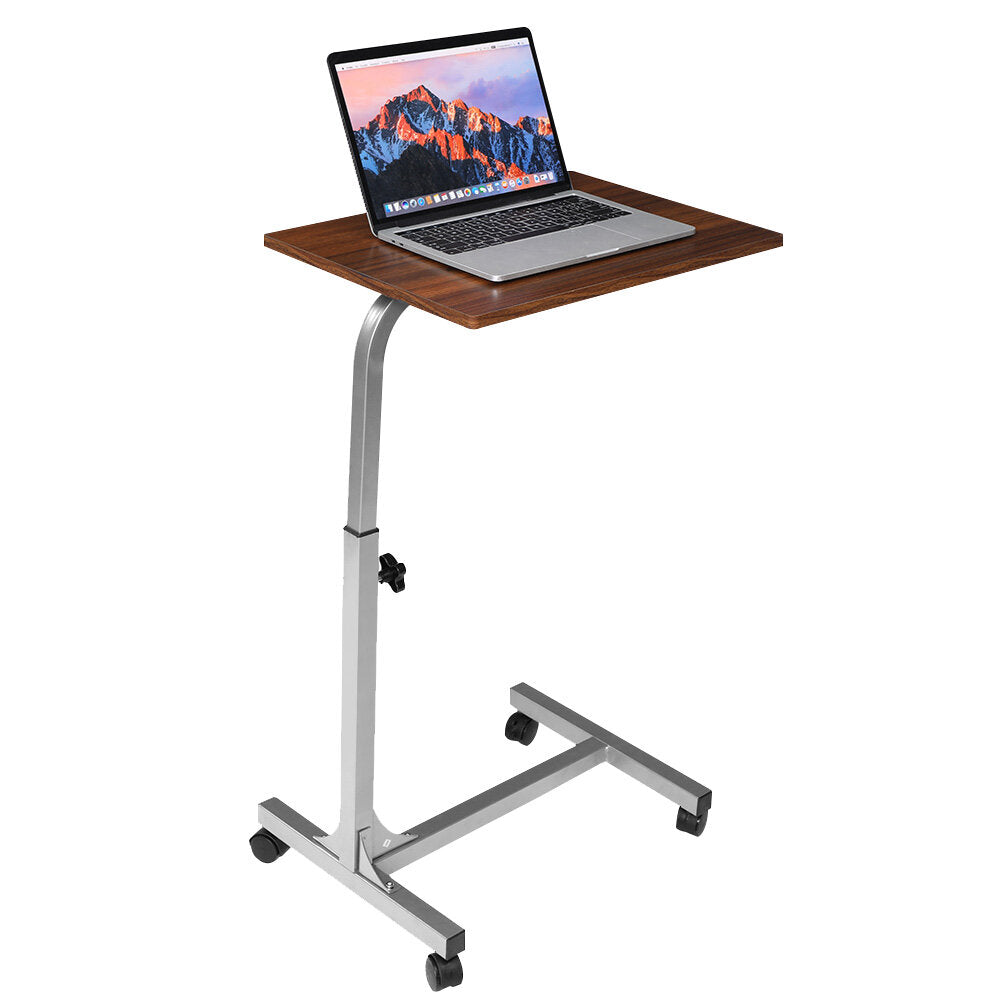 Bargainova™ Portable Rolling Laptop Desk with Adjustable Steel Frame