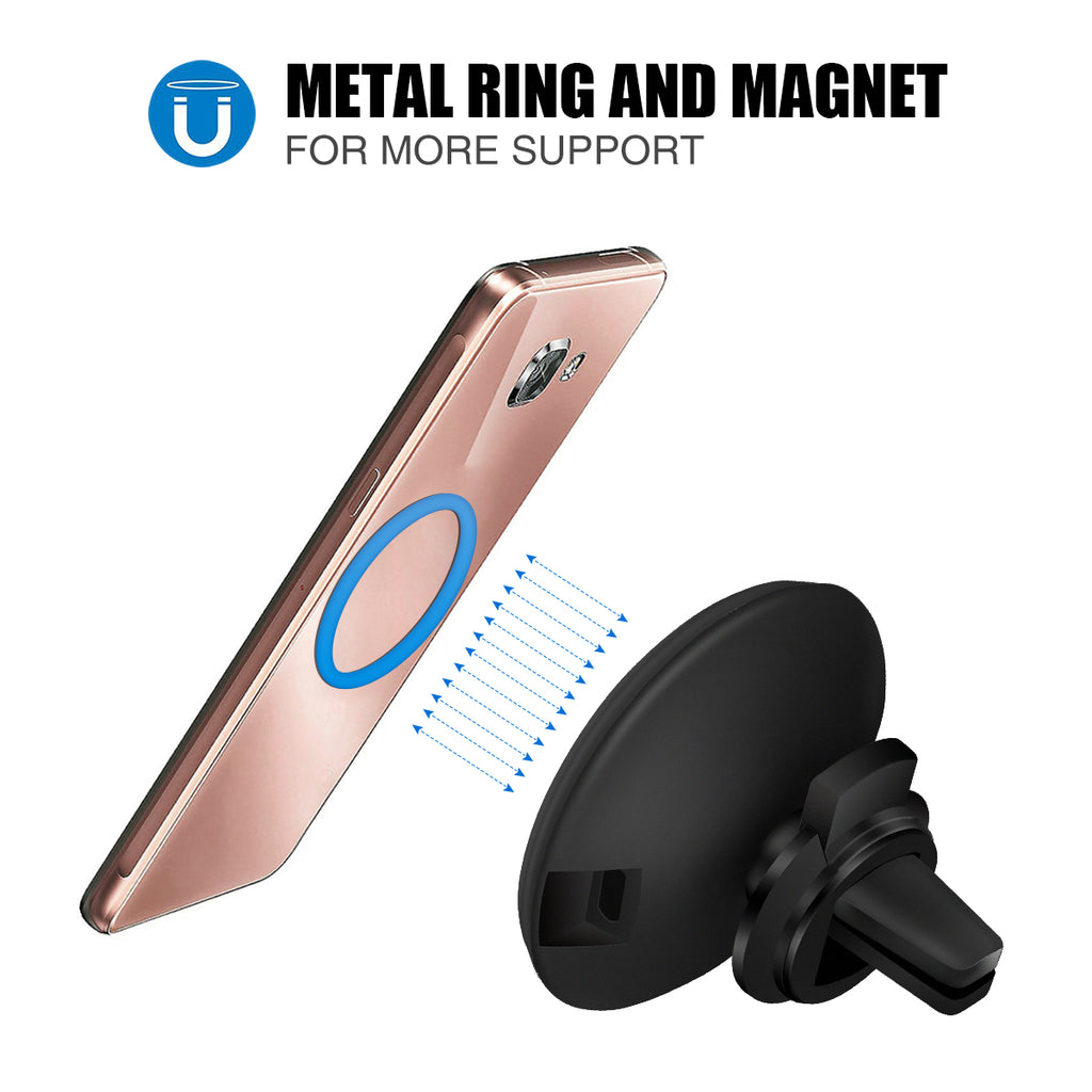 Bargainova™ QI Wireless Car Charger & Mount for Apple iPhone or Android