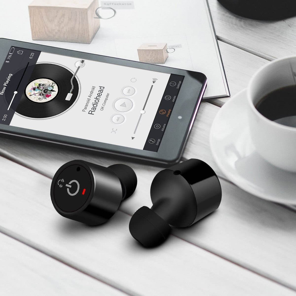 Bargainova™ X1T Waterproof Wireless Earbuds with MIC Voice Prompt Compatible with Iphone