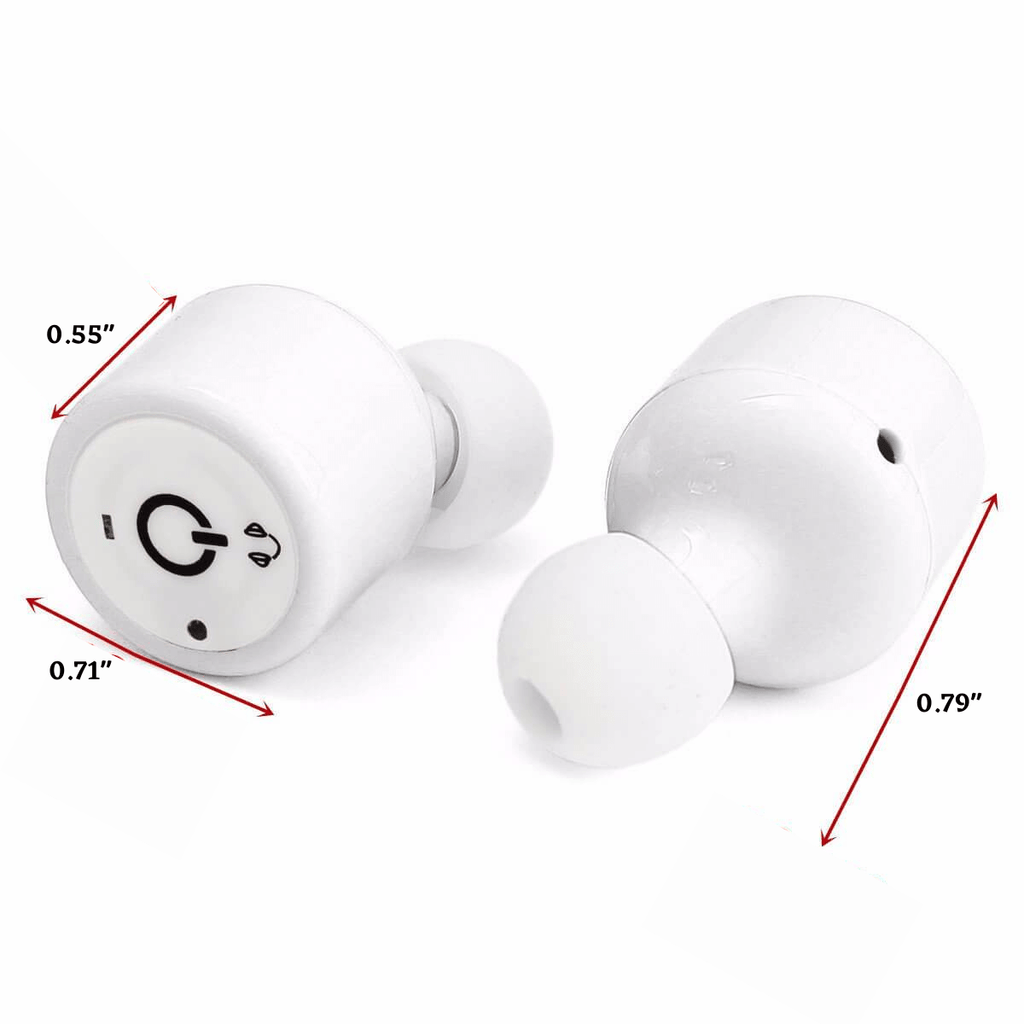 Bargainova™ X1T Waterproof Wireless Earbuds with MIC Voice Prompt