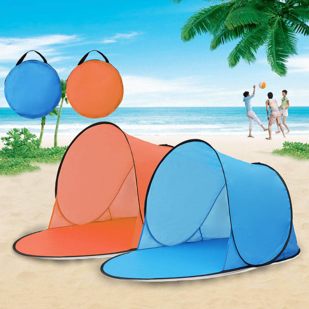 BeachBaby Pop Up Tent for Babies - Waterproof UV Sunshade Canopy
