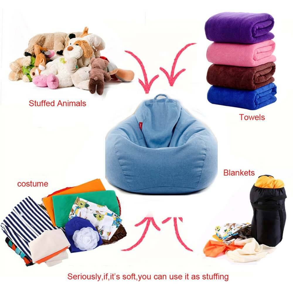 ChairWorld™ Bean Bag Chair for Adults and Kids