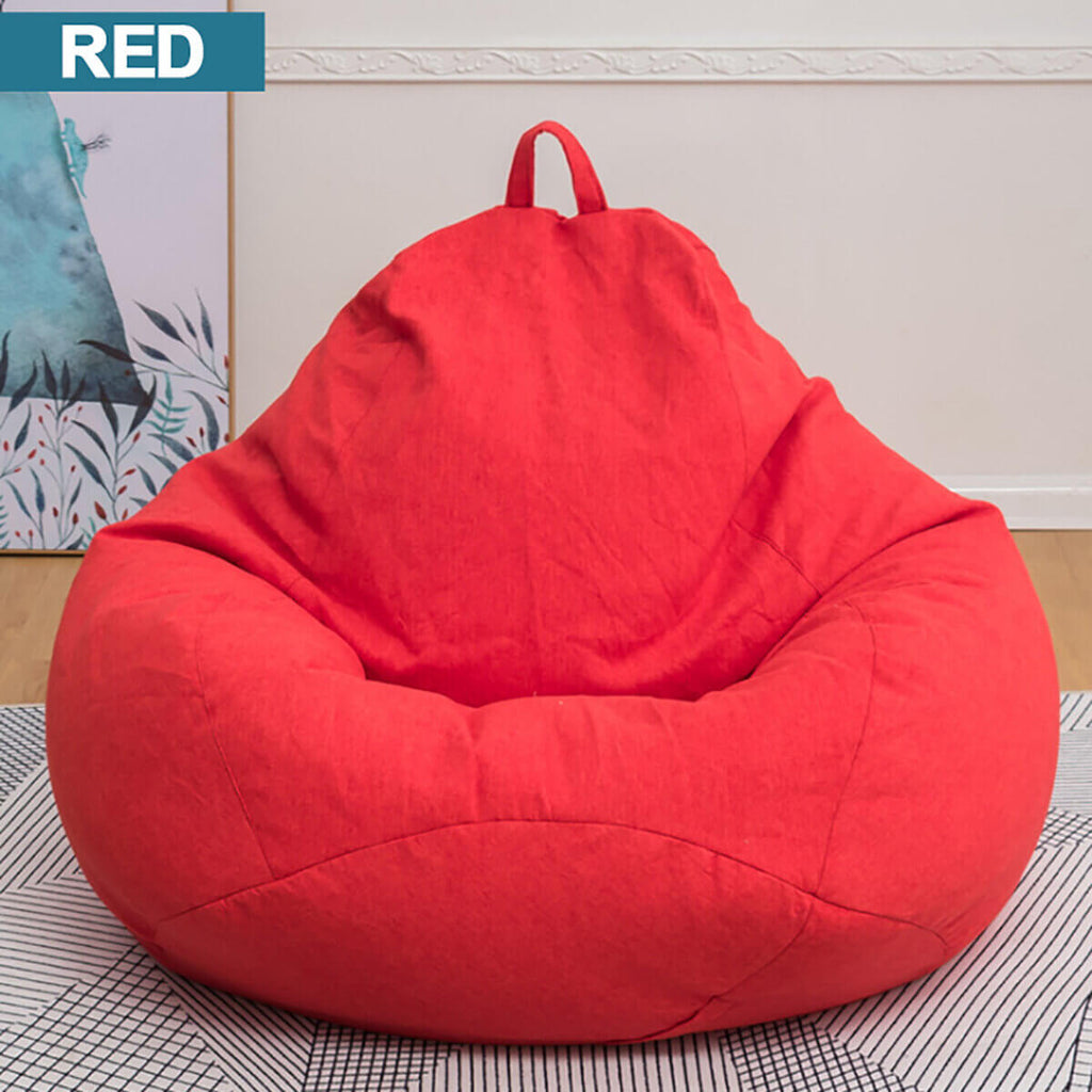 Red ChairWorld™ Bean Bag Chair for Adults and Kids