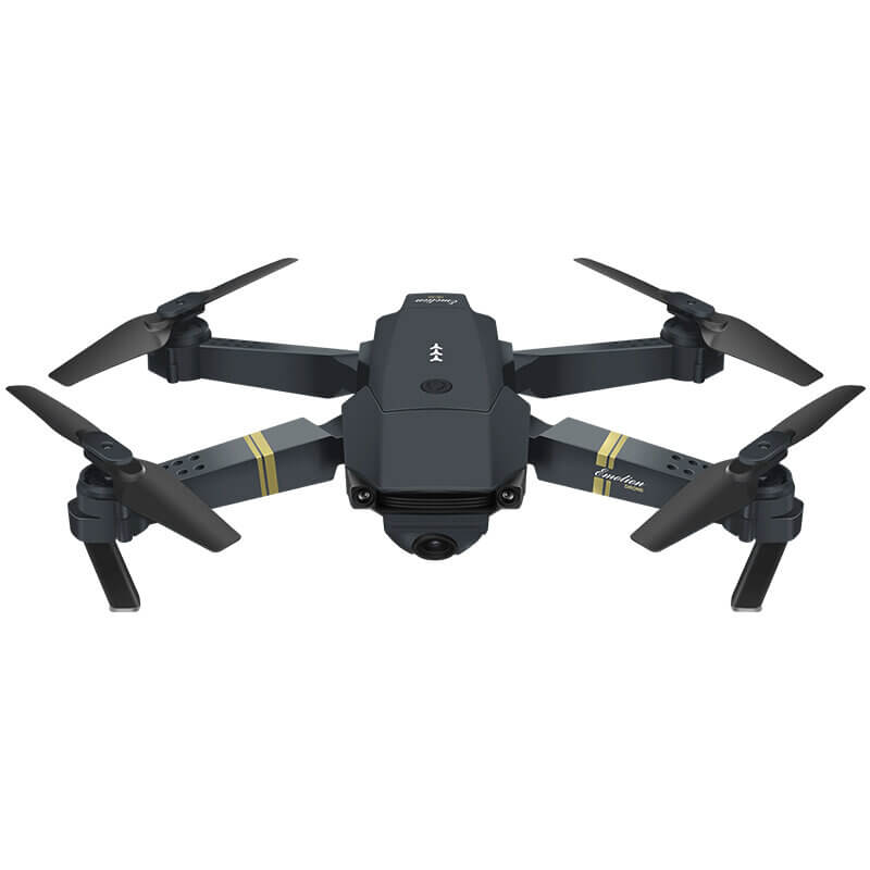 Front view of Eachine E58 Foldable Drone with Wide Angle 720P/1080P HD Live Camera