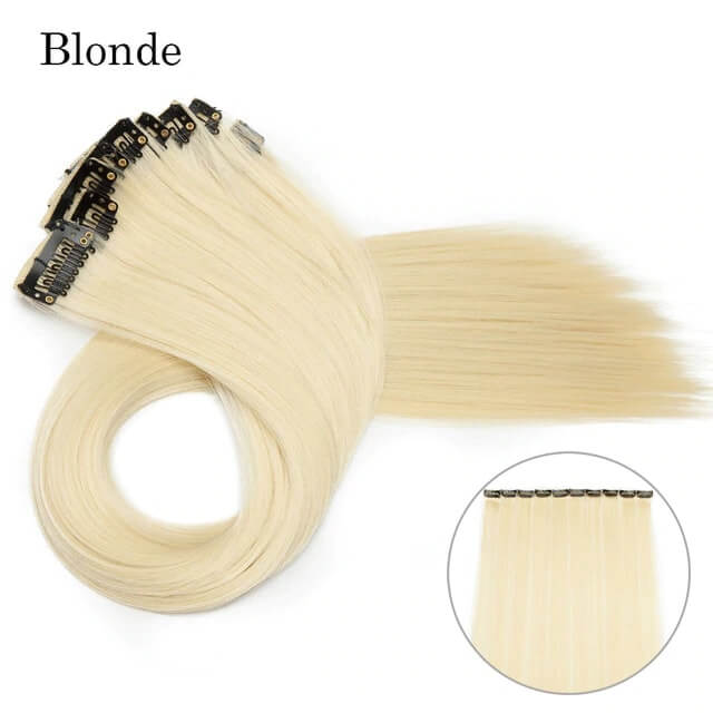 Blonde LuxDiva™ 20 inches Hair Extension with Highlight