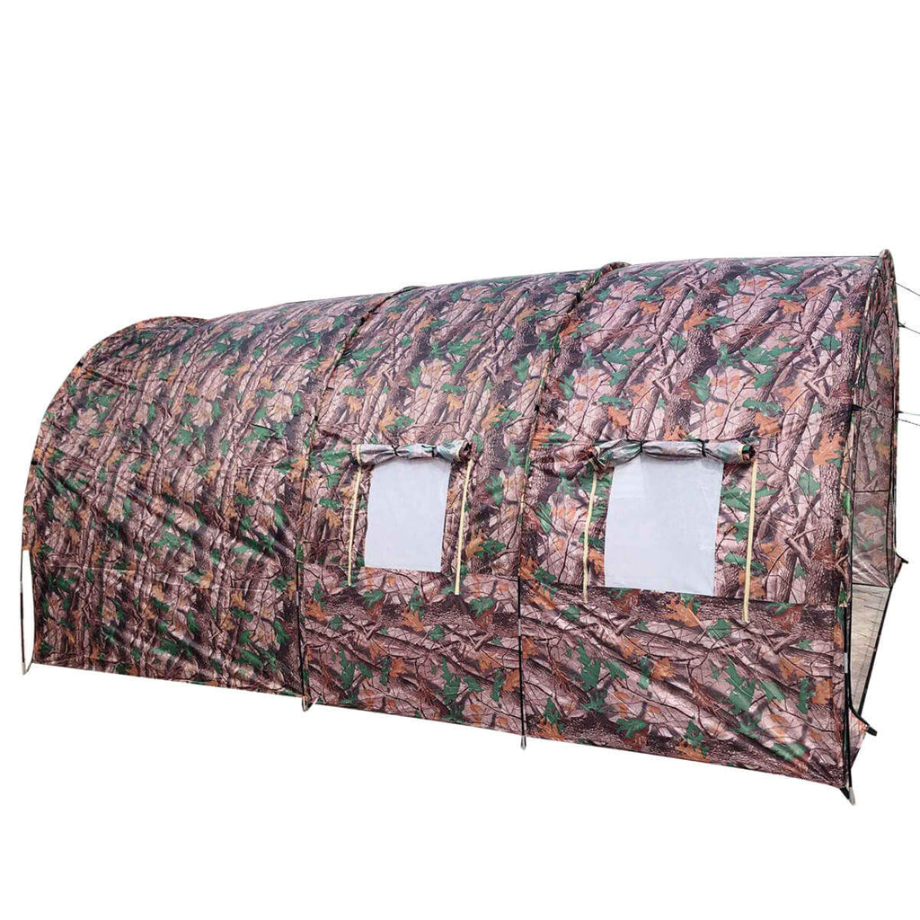 Camouflage TentRus™ Waterproof Camping Tent for Big Family 8 - 10 Person