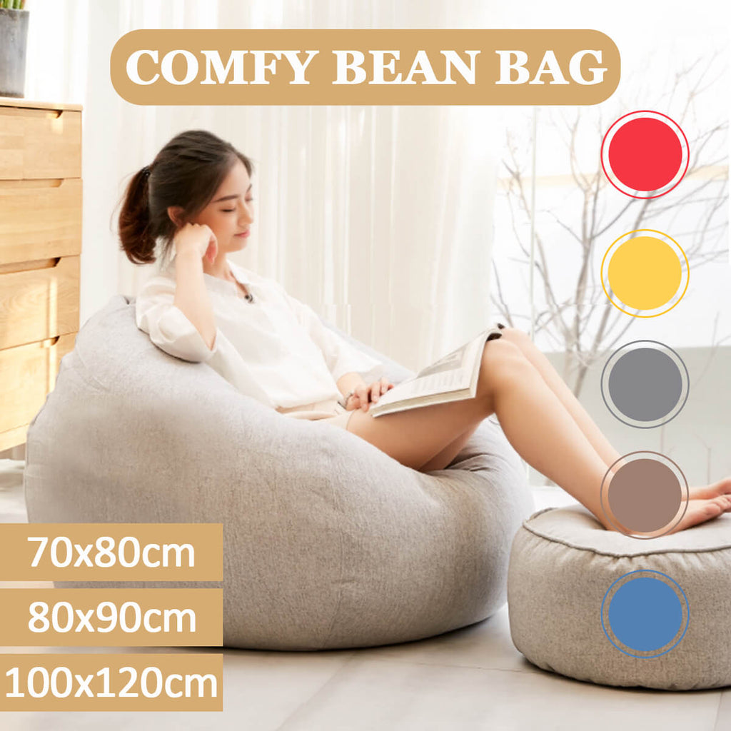 ChairWorld™ Bean Bag Chair for Adults and Kids Colors