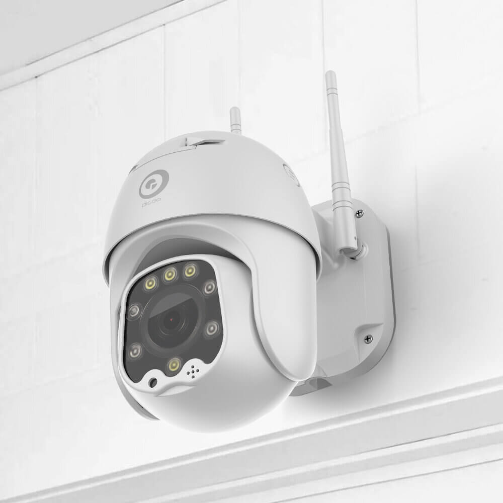 DIGOO™ CCTV Camera with Full-color Night Vision, Cloud Storage, and 5MP 1080P HD