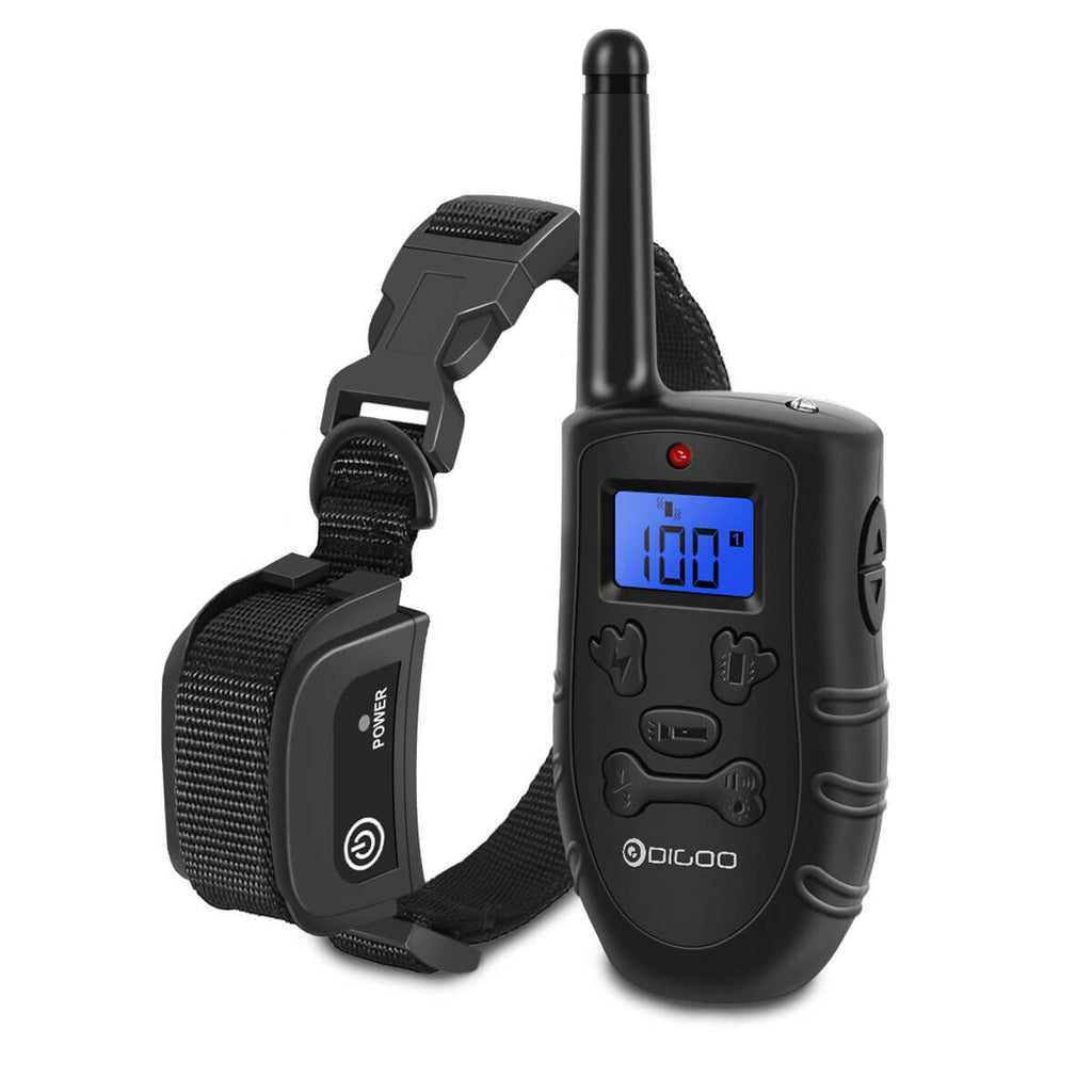 Digoo™ Dog Shock Collar with Waterproof Receiver and LCD Display