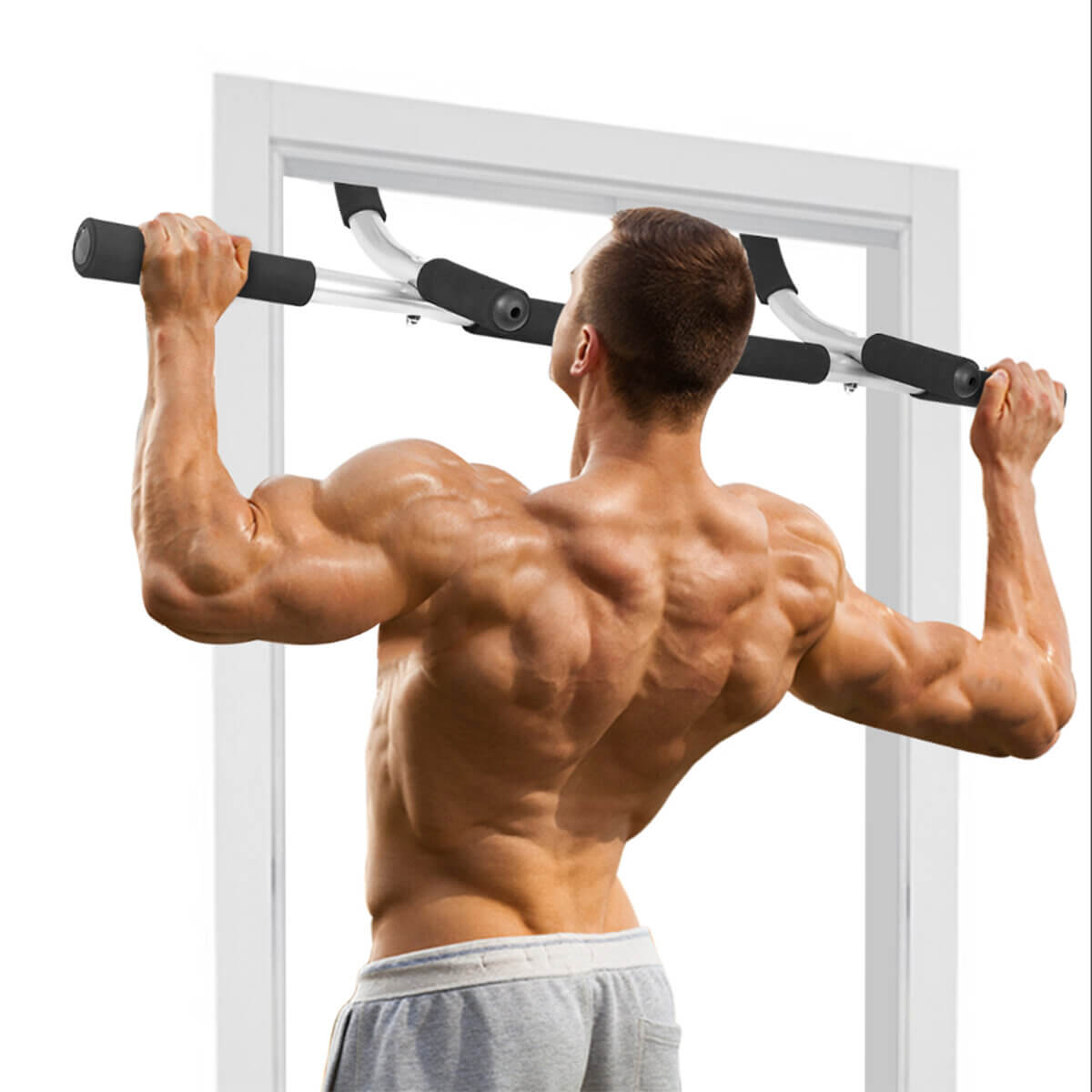 Fitnez™ Pull Up Bar for Home Workout and Fitness Equipment
