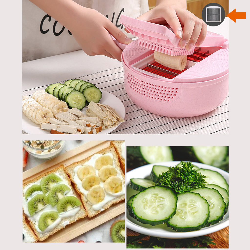 Godmorn™ Onion Chopper Julienne Slicer for Fruit and Vegetables