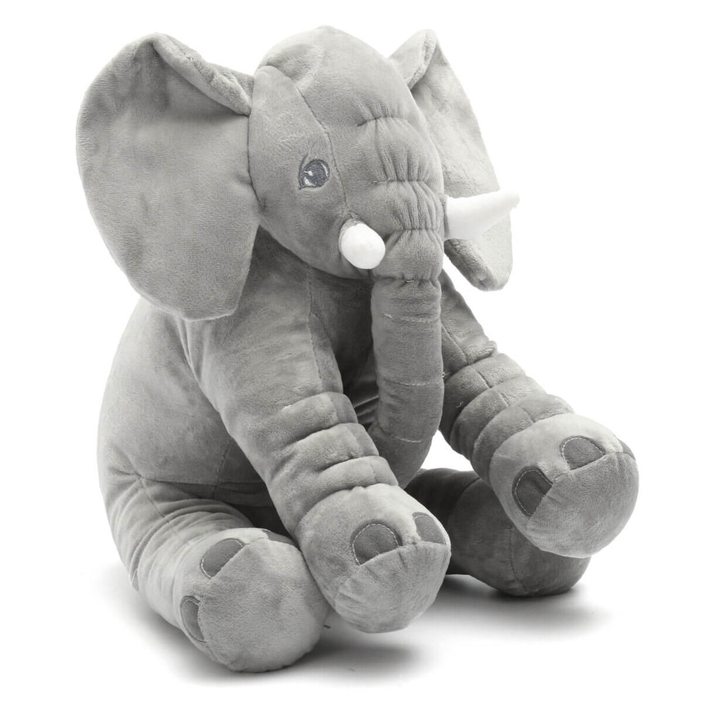 Grey AnimalLove™ Stuffed Animal Elephant Pillow for Toddlers, Infants or Kids