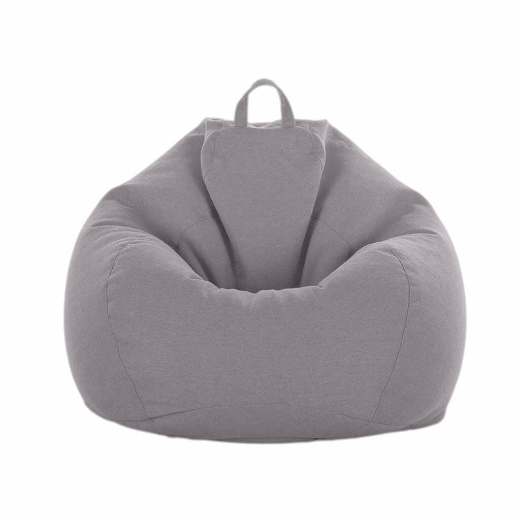 Grey ChairWorld™ Bean Bag Chair for Adults and Kids
