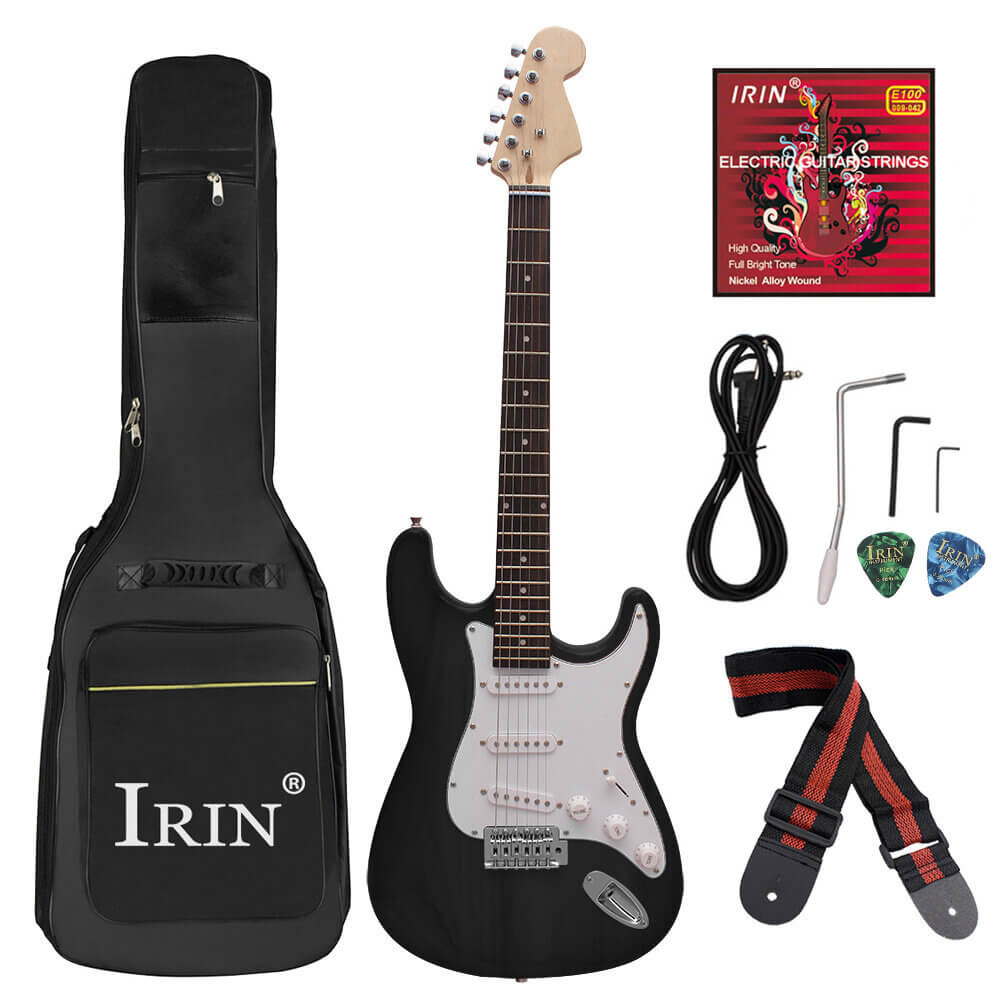 The Best GuitarCentral™ Electric Guitar with Accessories, Tools, and Bag