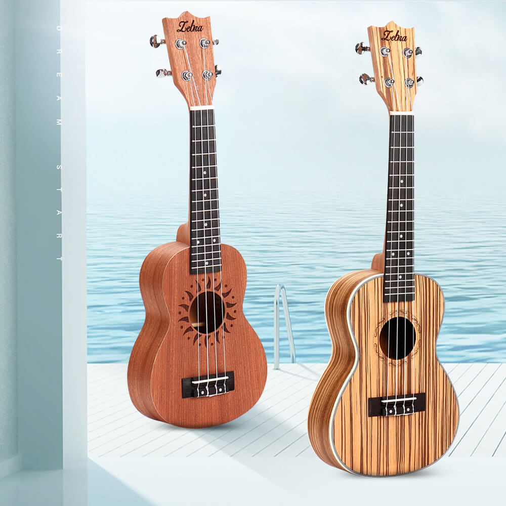 GuitarCentral™ Ukulele for Acoustic Music in 21/23 inch Length