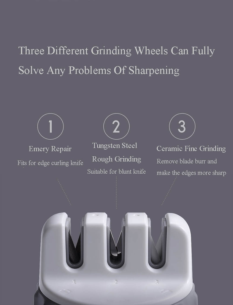 HUOHOU™ Knife Sharpener Tool with 3 Grinding Mode