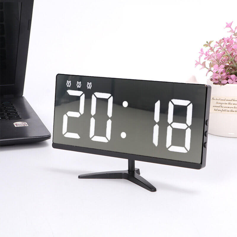 TimeBuddy™ Home and Office Clock with Temperature, Date Display, and Alarm