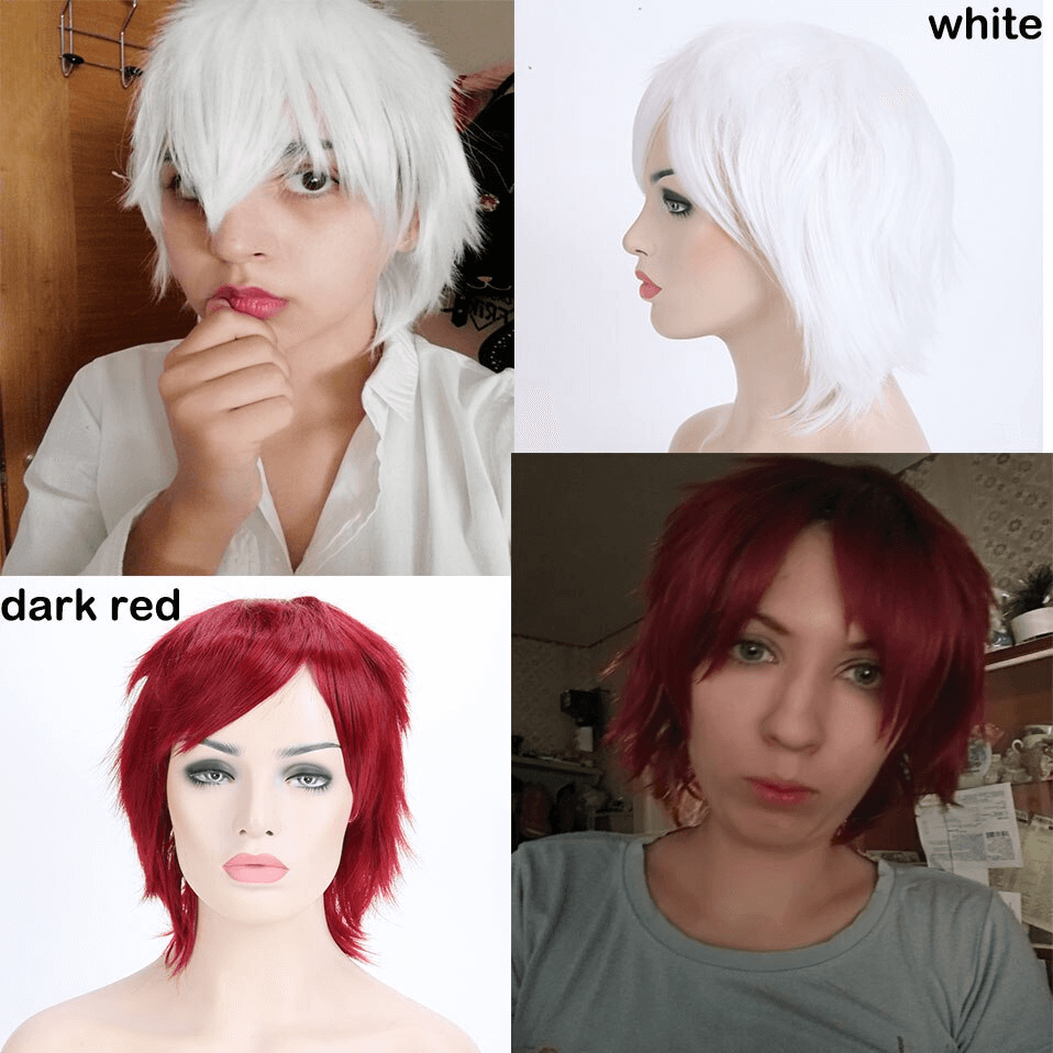 LuxDiva™ Anime Cosplay Wig for Kids, Men, and Women