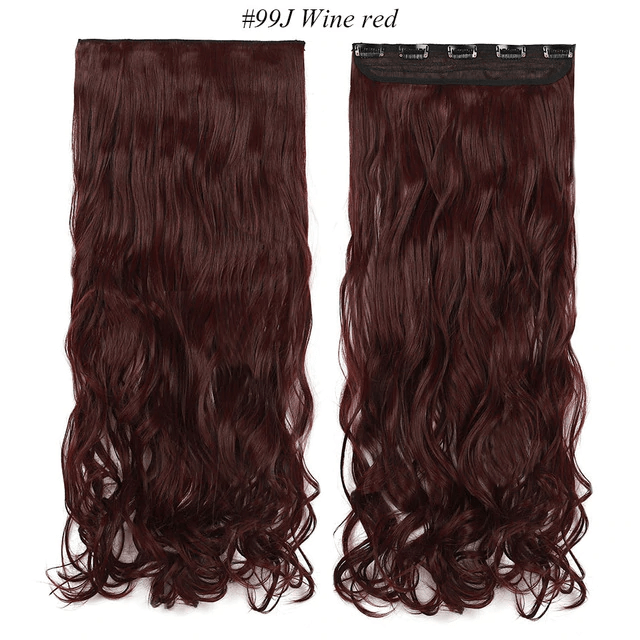 LuxDiva™ Long Wavy Clip-in One Piece Hair Extension